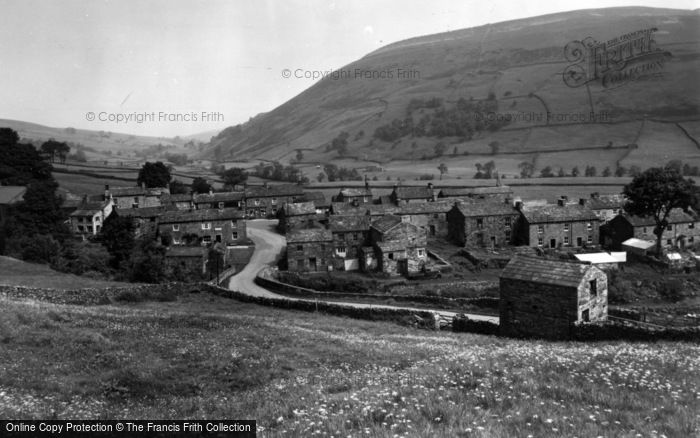 Photo of Thwaite, Village And Kisdon c.1960