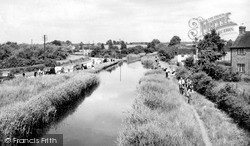 Tibberton, A View From The Bridge c.1960