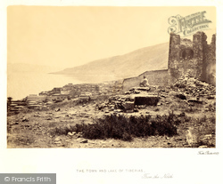 Tiberias, The Town And Lake From The North 1857