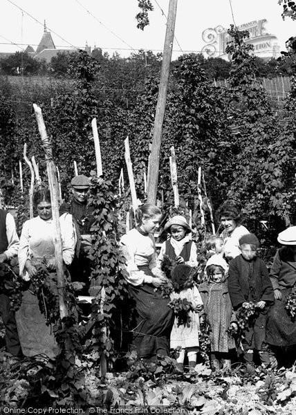 Photo of Ticehurst, A Hard Days Work 1907