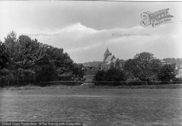 Photo of Ticehurst, Church From Institute 1925