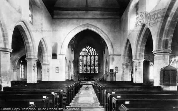 Photo of Ticehurst, Church Interior 1903