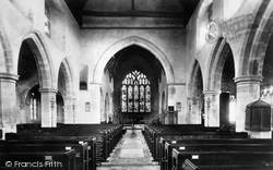 Ticehurst, Church Interior 1903