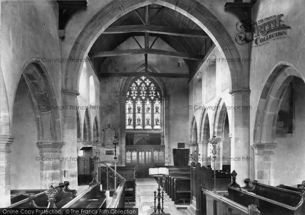 Photo of Ticehurst, Church Interior 1907