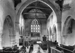 Ticehurst, Church Interior 1907