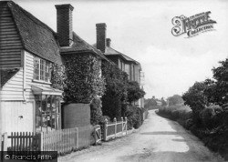 Ticehurst, Church Lane 1907