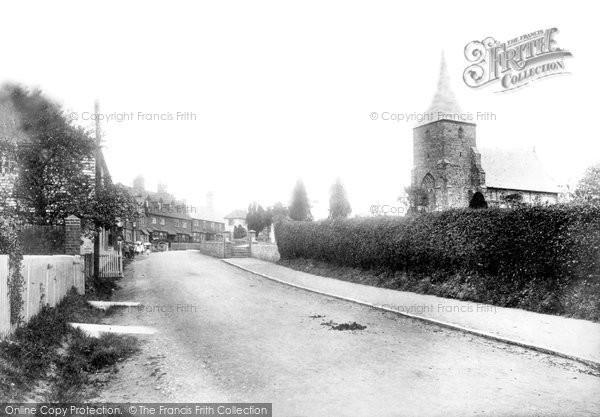 Photo of Ticehurst, Church Street 1903