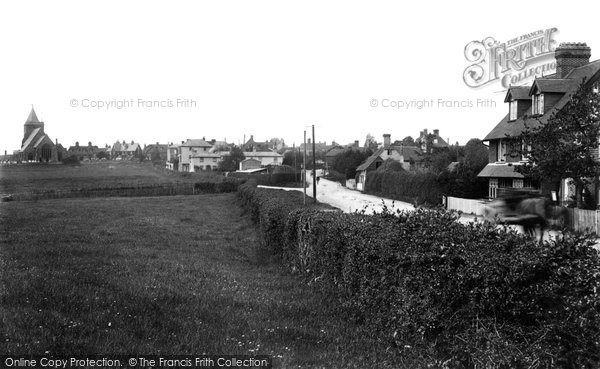 Photo of Ticehurst, from east 1903