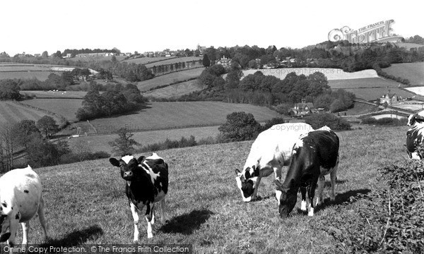 Photo of Ticehurst, From Etchingham Banks c.1960