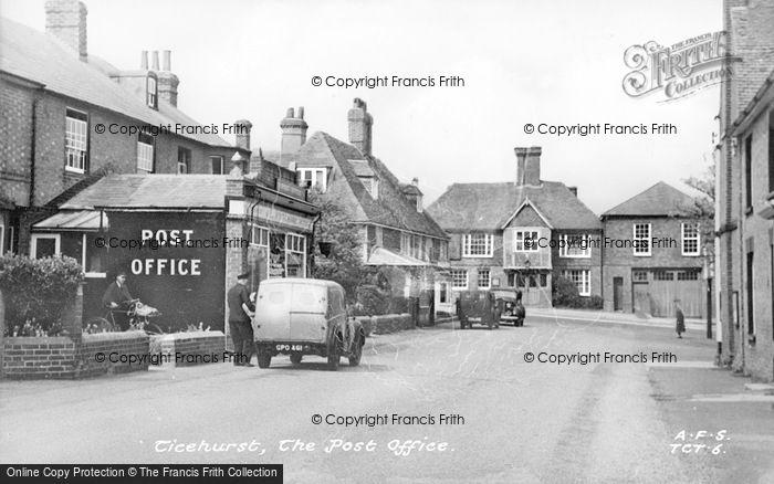 Photo of Ticehurst, Post Office c.1950