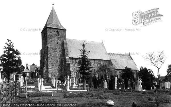 Photo of Ticehurst, St Mary's Church 1903