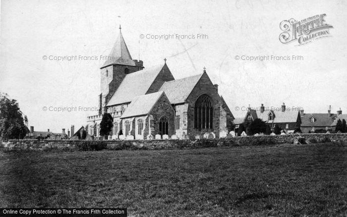 Photo of Ticehurst, St Mary's Church 1907