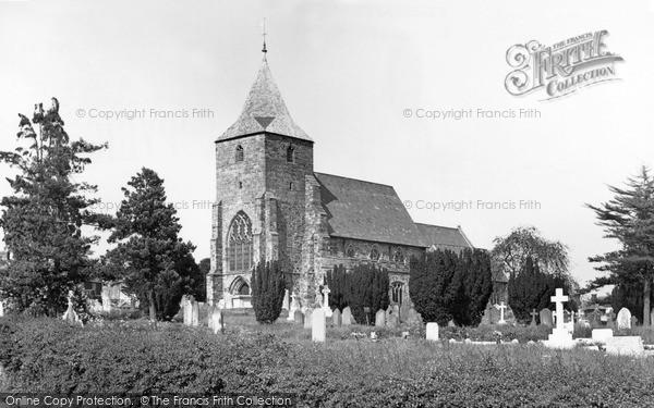 Photo of Ticehurst, St Mary's Church c.1960