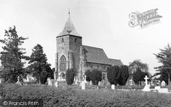 Ticehurst, St Mary's Church c.1960