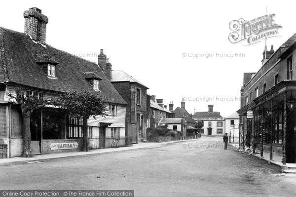 Photo of Ticehurst, The Village 1903
