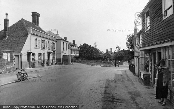 Photo of Ticehurst, The Village 1925