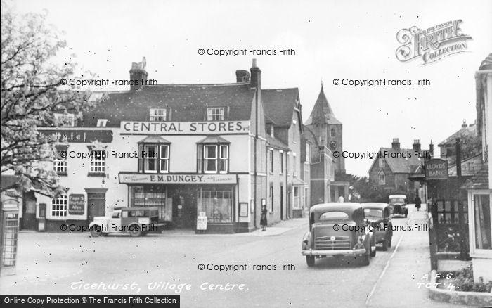 Photo of Ticehurst, The Village c.1950