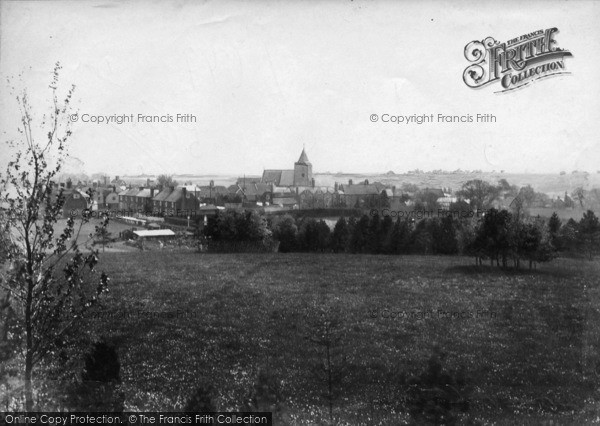 Photo of Ticehurst, View From North 1903