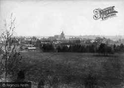 Ticehurst, View From North 1903