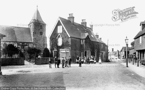 Ticehurst, Village and Church 1903