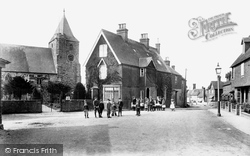 Ticehurst, Village And St Mary's Church 1903