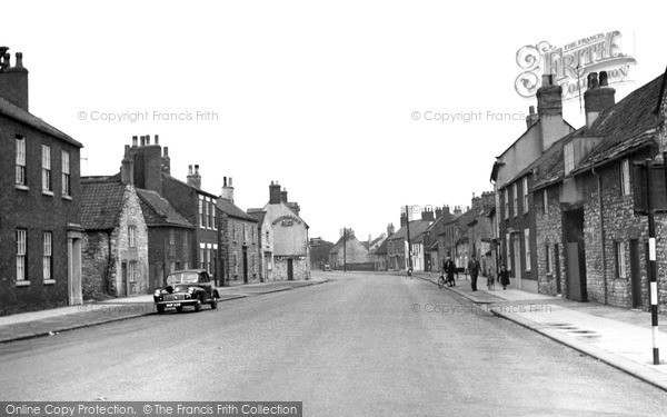 Photo of Tickhill, Sunderland Street c.1960