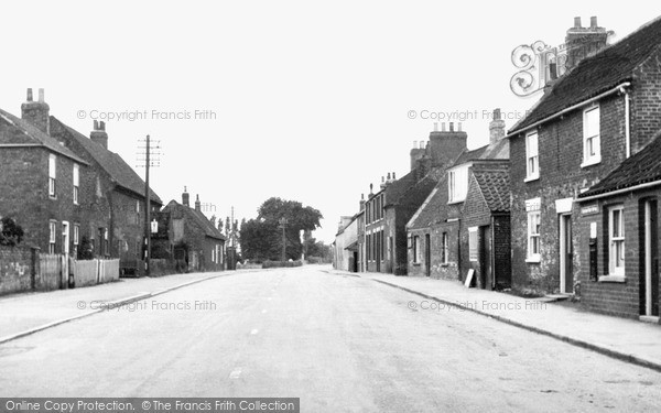 Photo of Tickton, Main Road c.1955