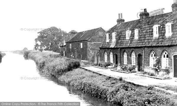 Photo of Tickton, River Hull c.1960