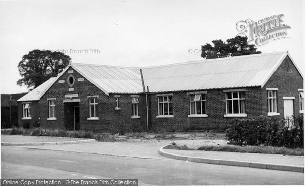 Photo of Tickton, The Parish Hall c.1955