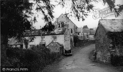Tideford, Bridge Road c.1955