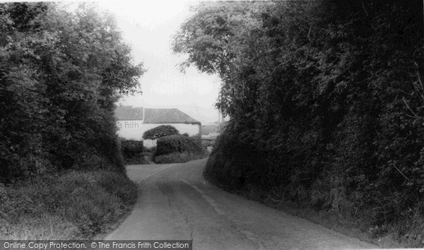 Photo of Tideford, Cross c.1960