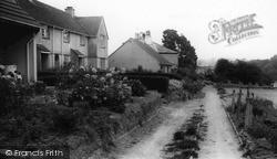 Tideford, Mill Road Estate c.1960