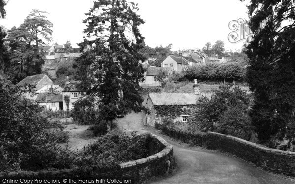 Photo of Tideford, The Bridge c.1955