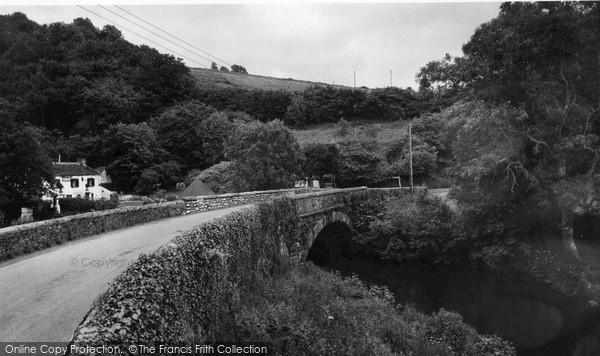 Photo of Tideford, The Bridge c.1960