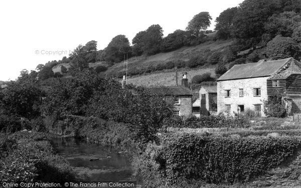 Tideford,the Heskyn Mill c1960,Cornwall