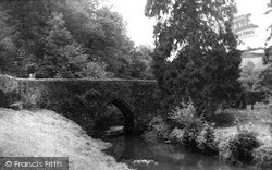 Tideford, The River Tiddy c.1955