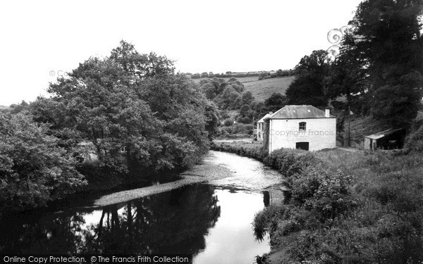 Photo of Tideford, The River Tiddy c.1960