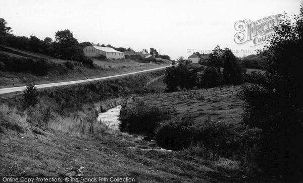Photo of Tideford, The Stream c.1960