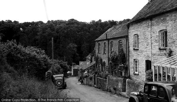 Photo of Tideford, The Village c.1950