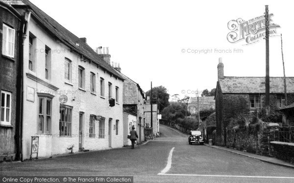 Photo of Tideford, The Village c.1955