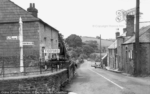 Photo of Tideford, the Village c1960