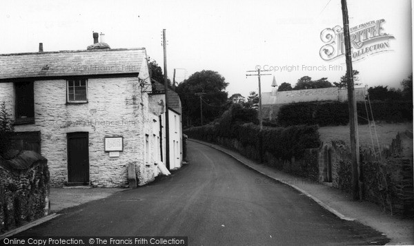 Photo of Tideford, The Village c.1960
