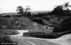 Tideford, Under Road c.1960