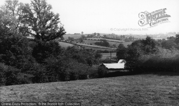 Photo of Tideford, View From The Church c.1960