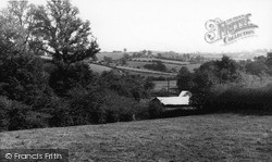 Tideford, View From The Church c.1960
