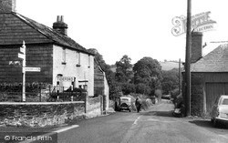Tideford, View From The Square c.1960