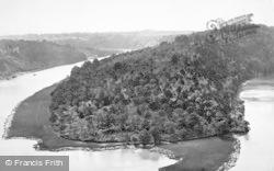 Tidenham, River Wye, Tidenham Bends c.1872