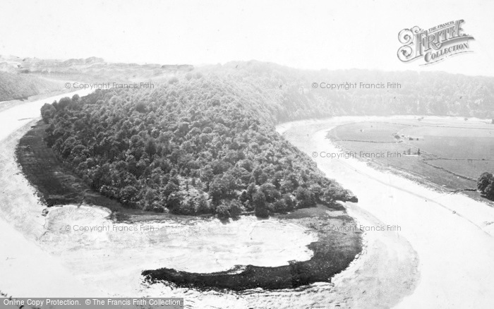 Photo of Tidenham, River Wye, Tidenham Bends c.1880