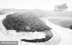 Tidenham, River Wye, Tidenham Bends c.1880