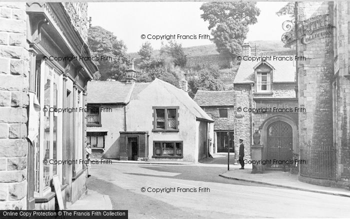 Photo of Tideswell, Bank Square c.1955